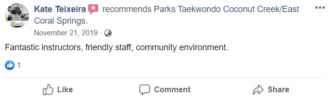 Adult1, Park's TaeKwonDo Coral Springs HQ
